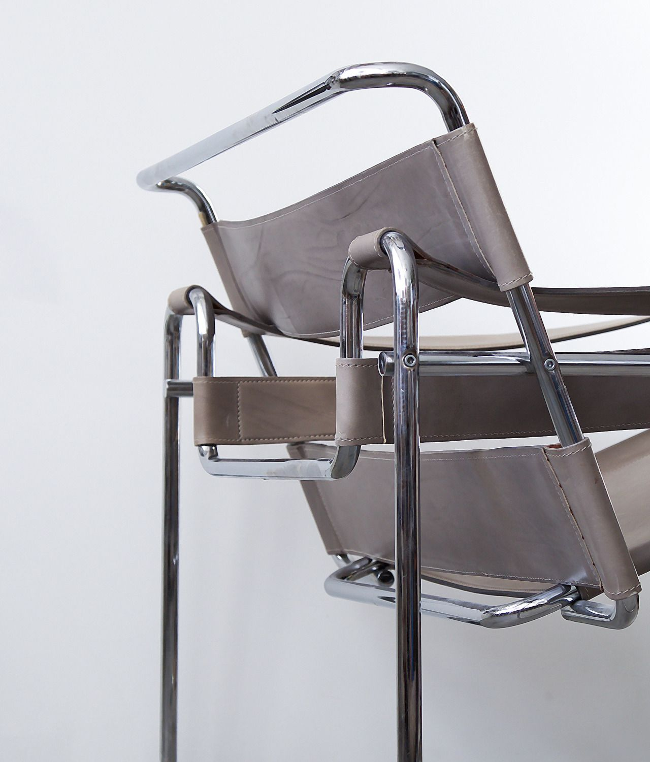 MARCEL BREUER, Model B3Chair, also known as the Wassily