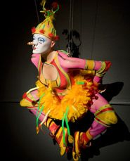 Costume designs of the OVO show