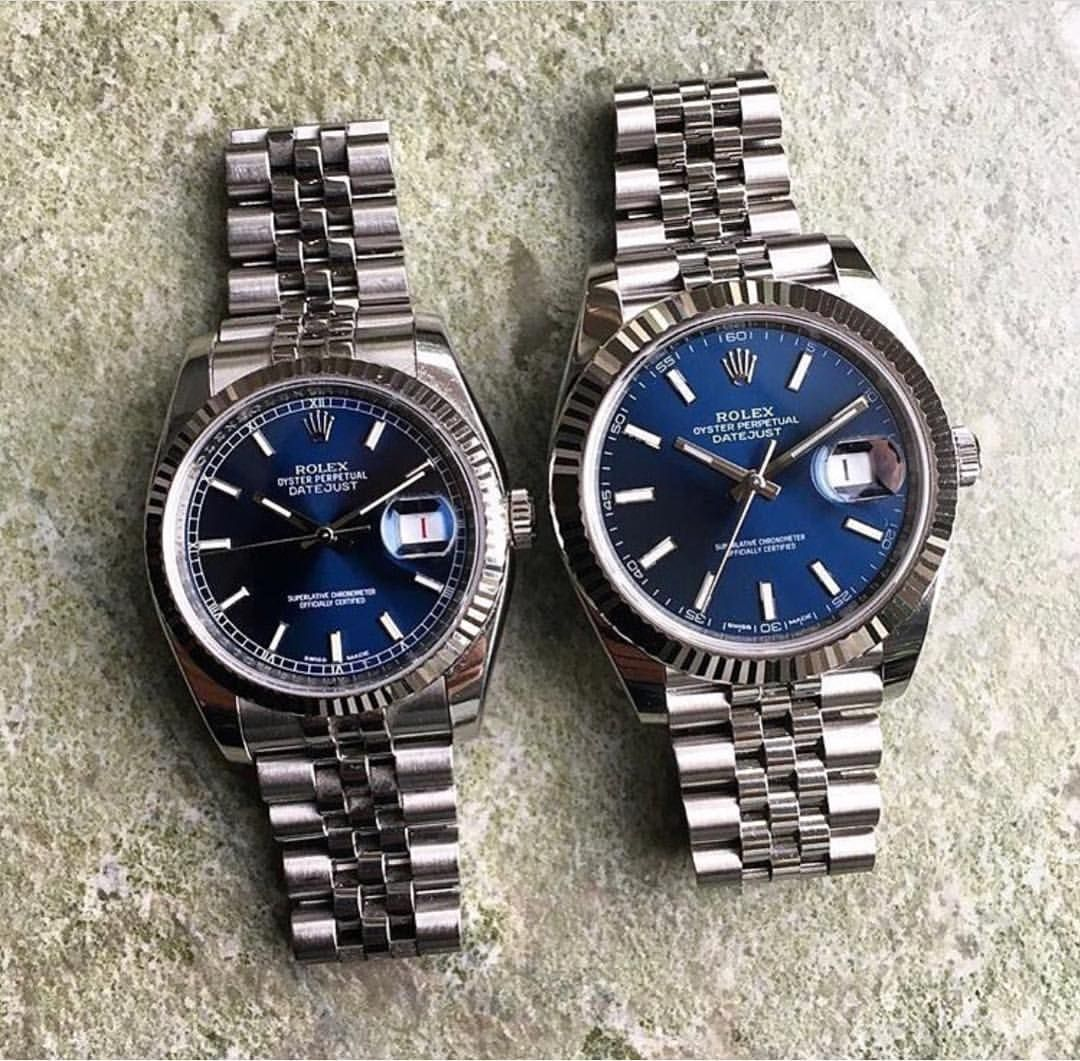 The legendary Datejust. Probably the most famous classic watch in the  world! The DJ41 is SO hot imo with the jubilee and the fluted lunette...  some prefer ... 5c9d5bd396