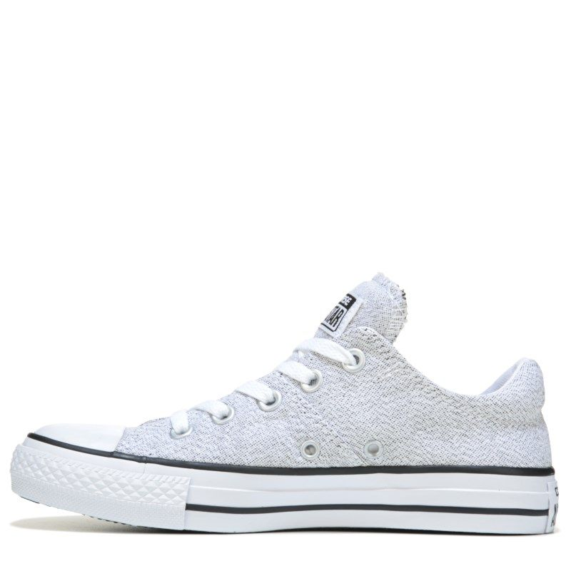 39c7680bde02 Converse Women s Chuck Taylor All Star Madison Low Top Sneakers (Grey)