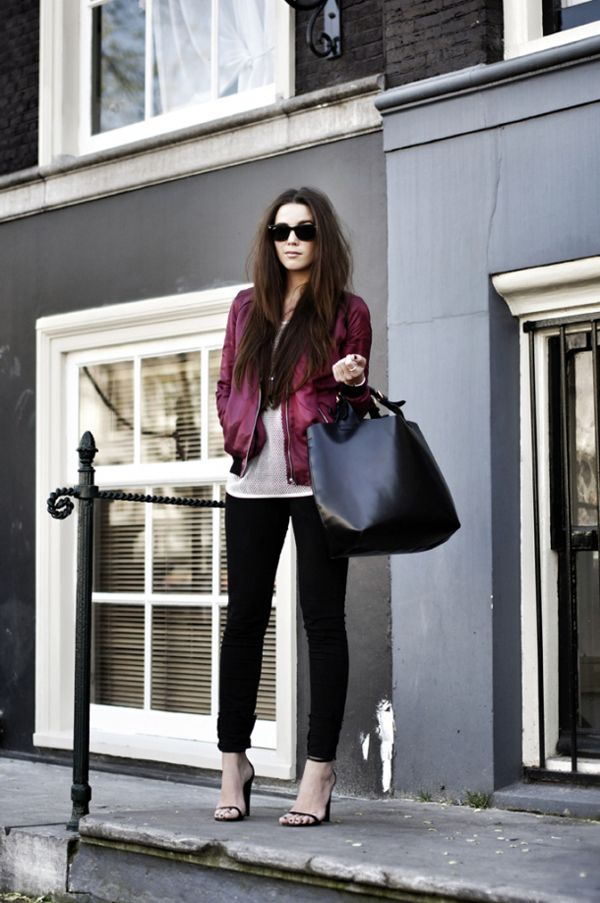 THE SHADY SIDE: shady street style inspirations: a sporty aesthetic