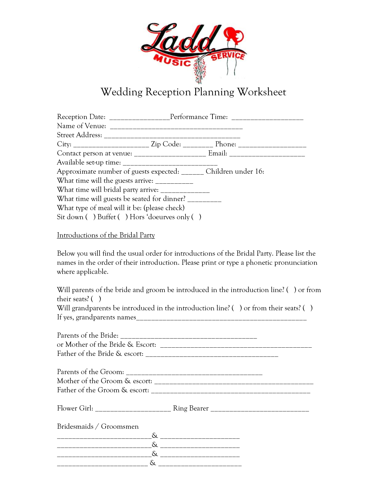 Dj For Wedding Reception Contract Template Accessoires Pour