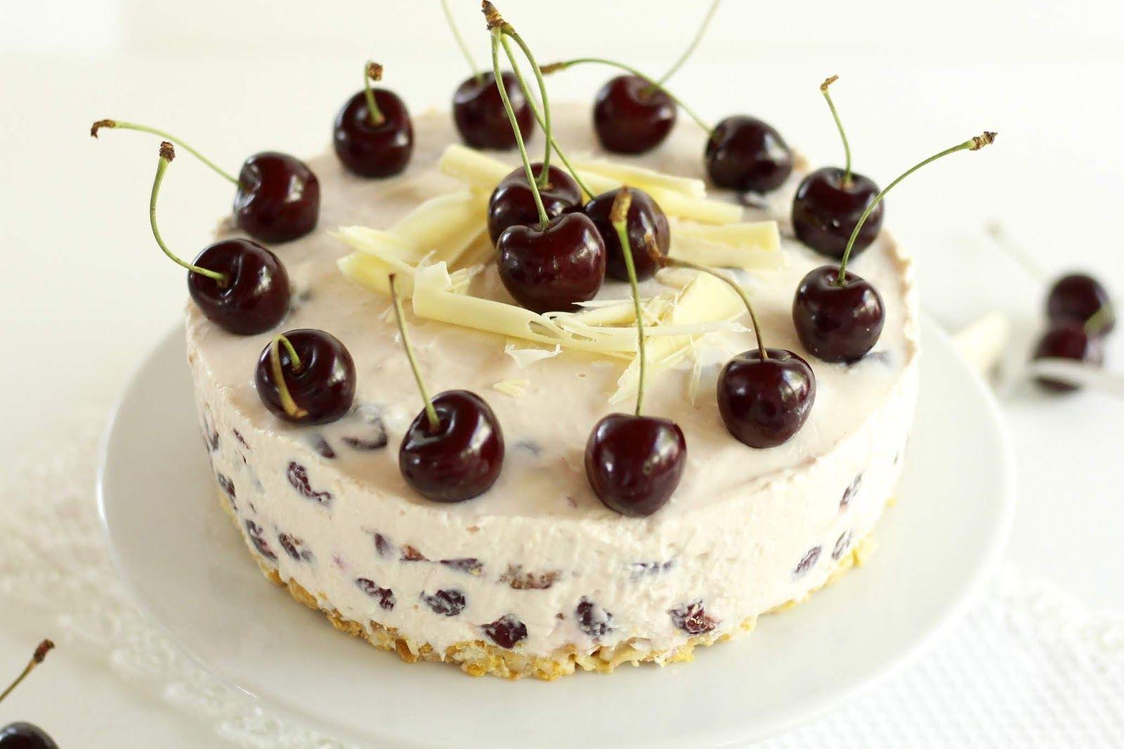 Schnelle Kirsch Quark Torte Ohne Backen Sommerliches Rezept Mit