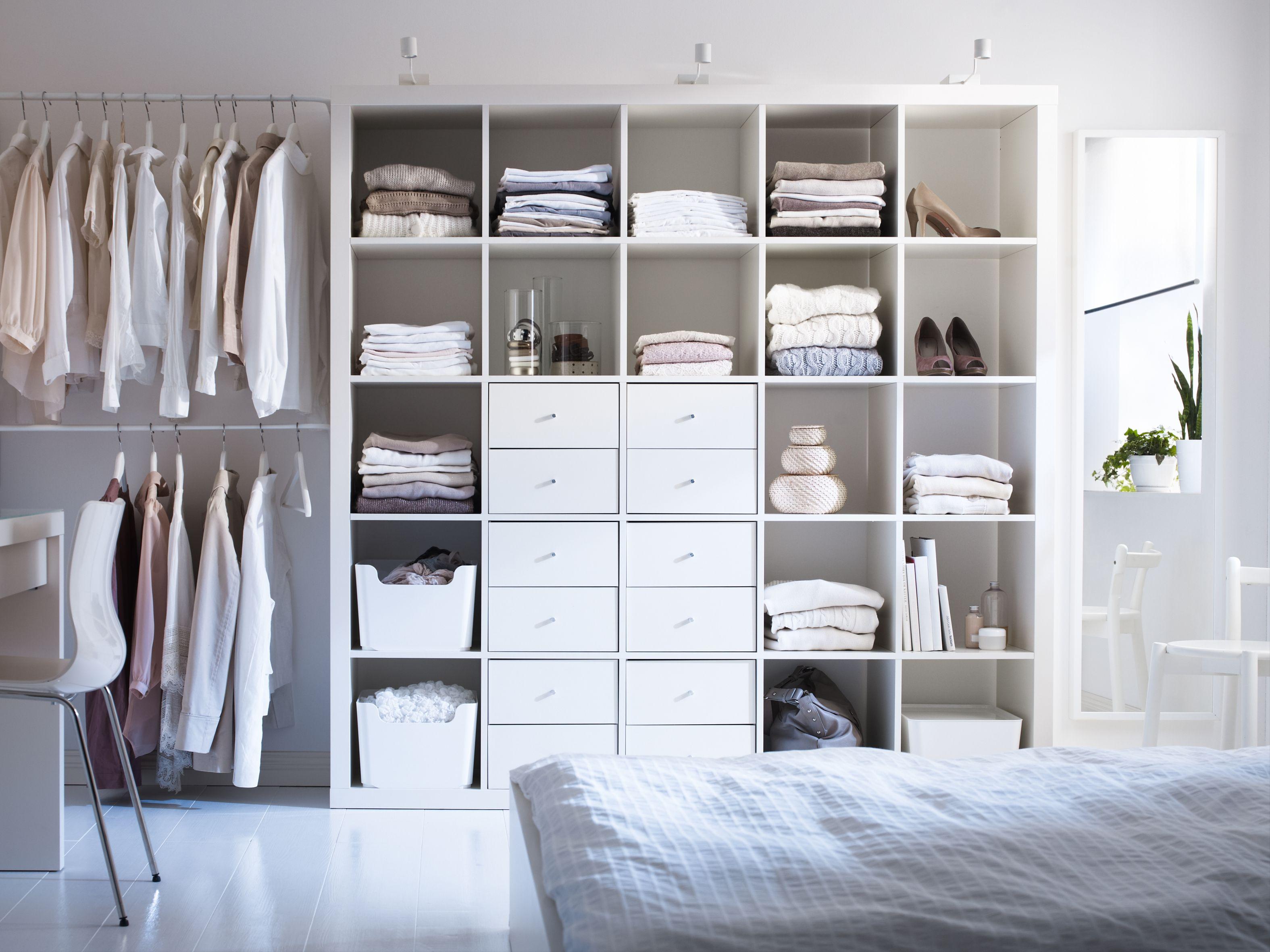 Slaapkamer Met Kledingkast : Gebruik de expedit kast als overzichtelijke kledingkast in je