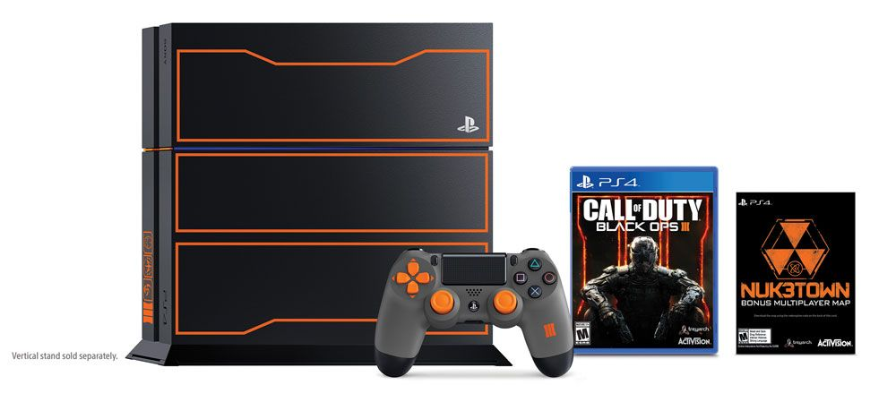 Call of Duty: Black Ops III Limited Edition PlayStation 4 1TB ...