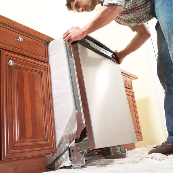 How To Replace A Dishwasher In 4 Easy Steps Home Repairs Dishwasher Repair Appliance Repair