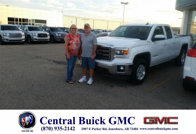 Congratulations Gilbert On Your Gmc Sierra 1500 From Ronnie Nichols At Central Buick Gmc Buick Gmc Buick Gmc