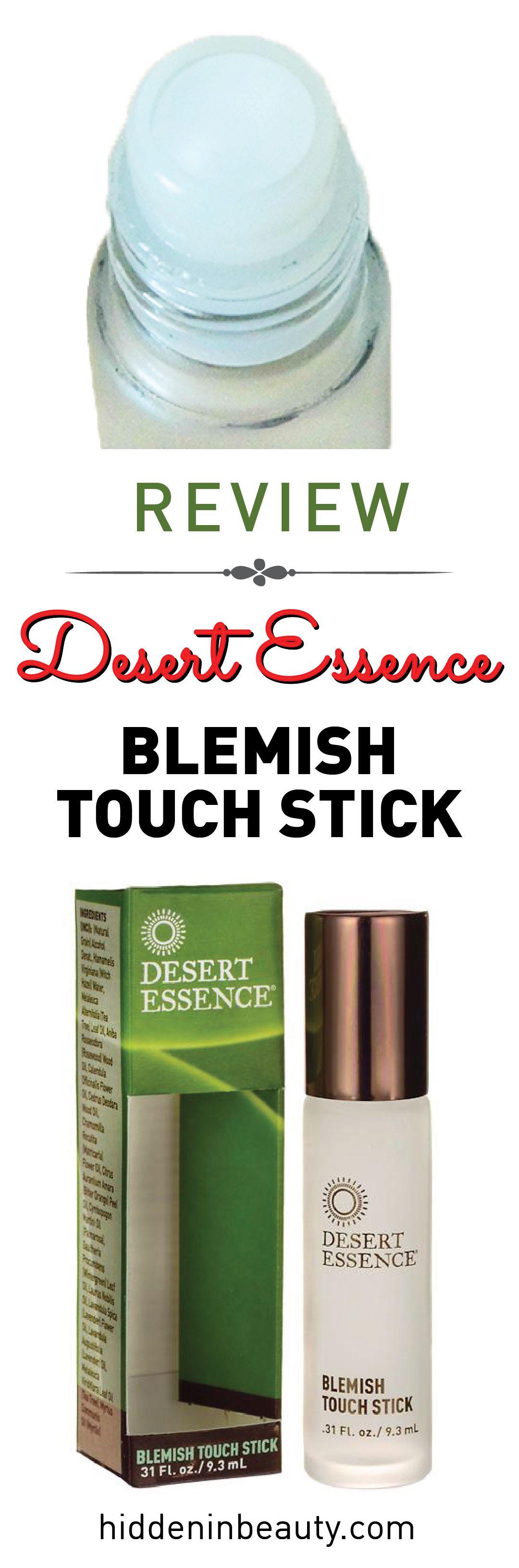Review Desert Essence, Blemish Touch Stick Beauty