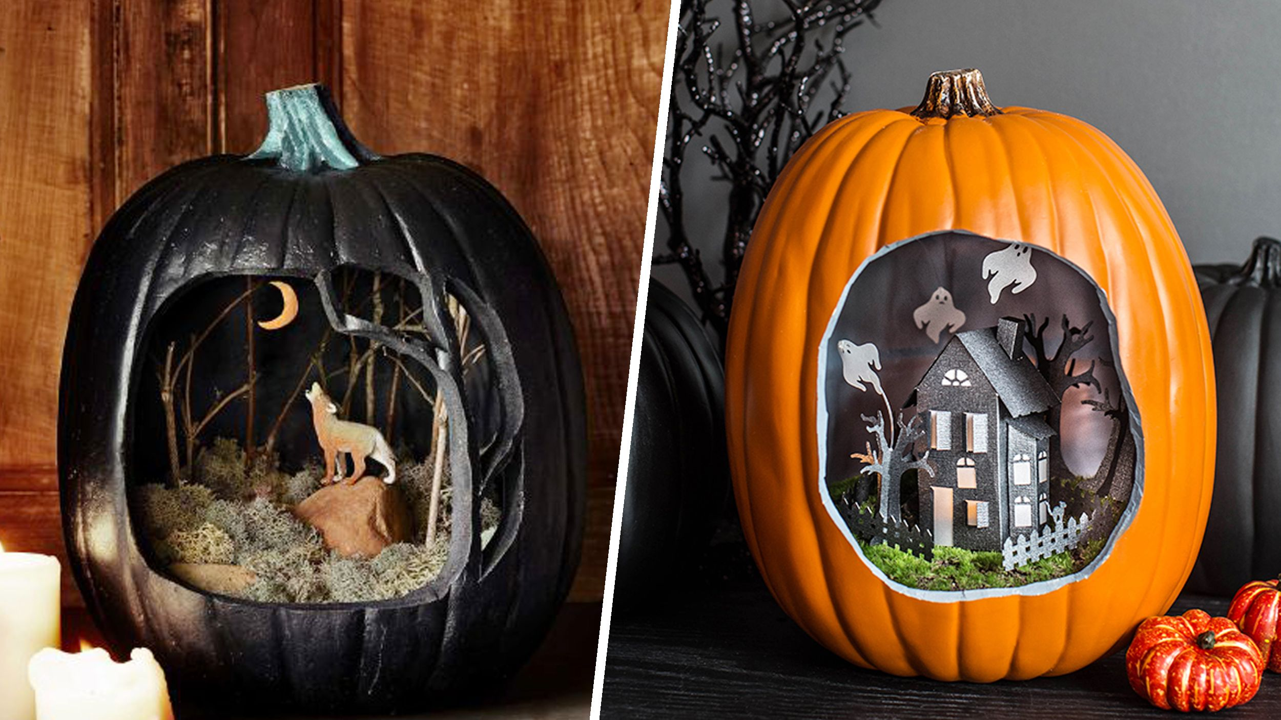 pumpkins! This new Halloween trend will take you on