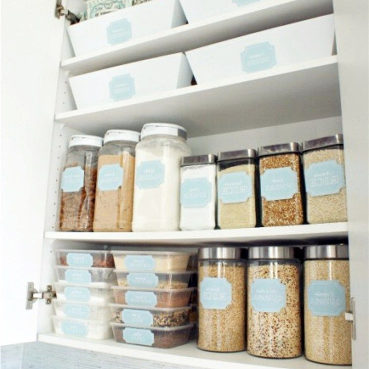 No Pantry How To Organize A Small Kitchen Without A Pantry Decluttering Your Life Dollar Store Diy Organization Dollar Store Organizing Pantry Makeover