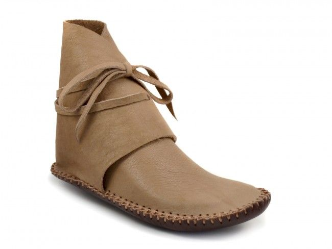 Southwest Desert Moccasin, Made from US-Sourced Buffalo Leather