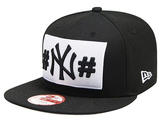 New York Yankees Hashtag 9Fifty Snapback Cap by NEW ERA x MLB ... e9d55f13948