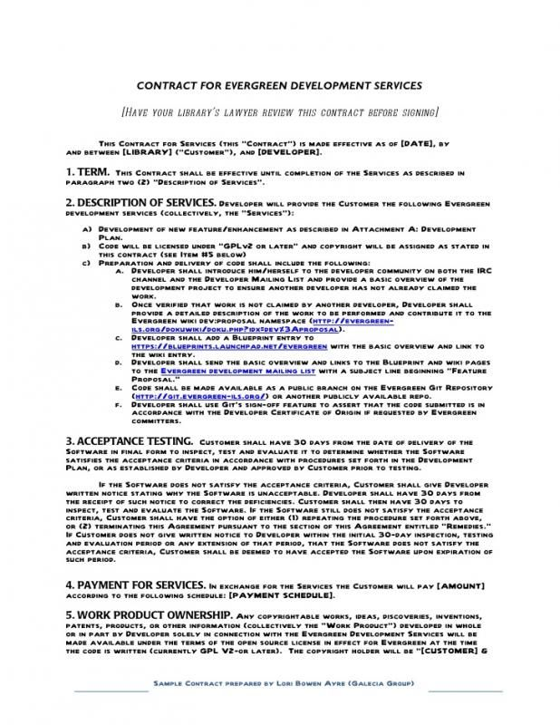 Free Printable Construction Contracts template Pinterest