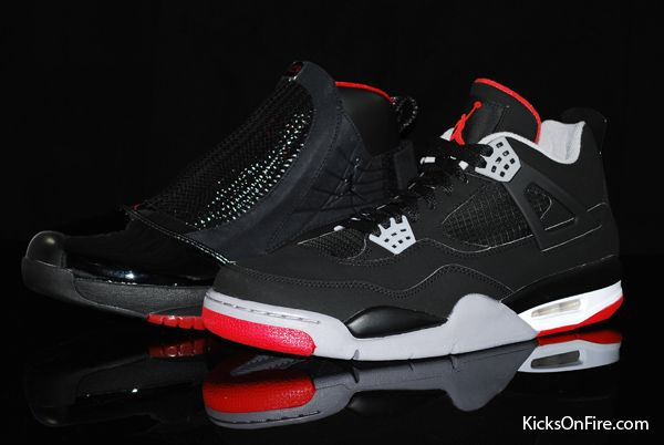 Air Jordan 4 (IV) Retro - Black   Cement   Fire Grey (Countdown ... b4d0fd7d04