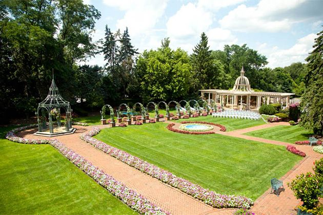 BRIDES New Jersey Beautiful Wedding Venues For Spring Weddings