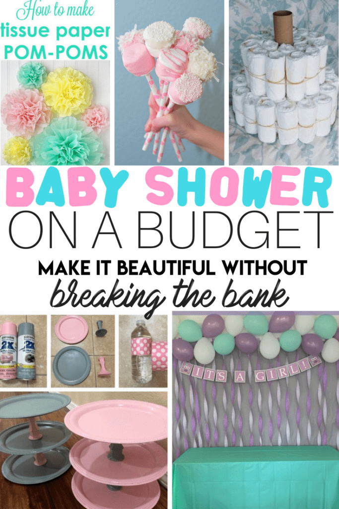 Baby Shower On A Budget #babyshowerparties