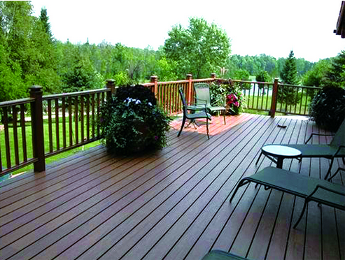 Balcony composite deck price Outdoor composite decking