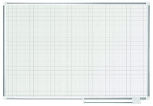 Amazon Com Mastervision Magnetic Gold Ultra 1 X 1 Inch Grid Dry Erase Planning Board 36 X 48 Inches Aluminum Frame Ma0547830 Office Products