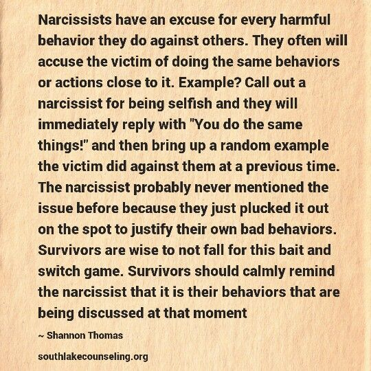 Narcissistic deflection | Psychology