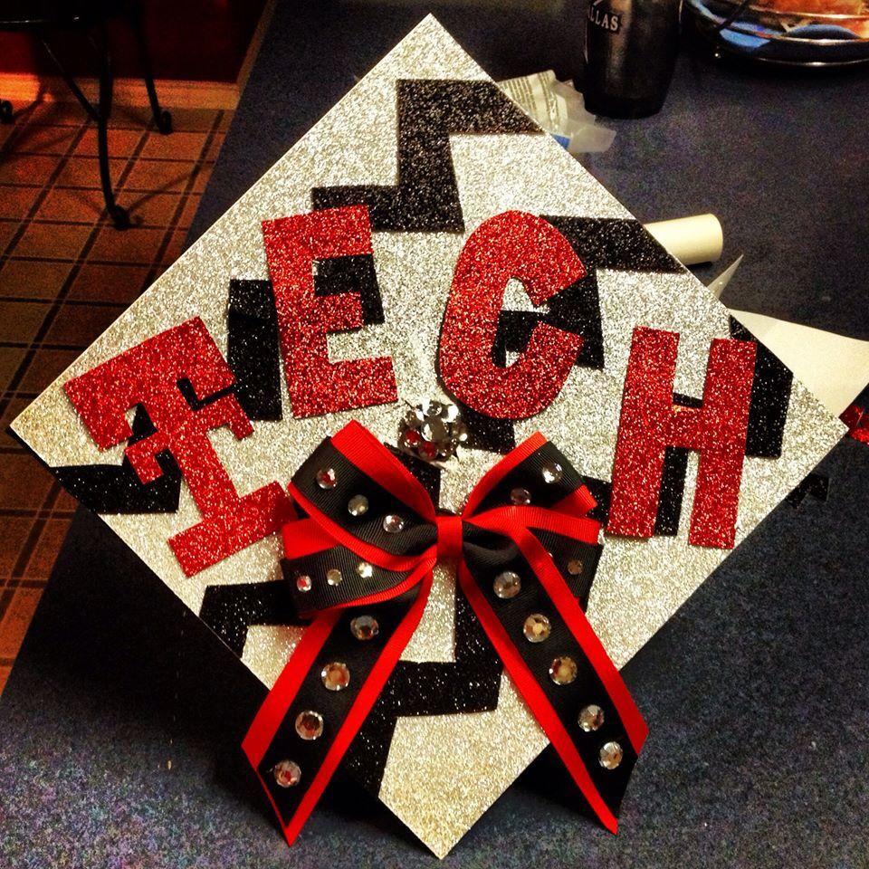 Texas Tech graduation cap! Graduation cap decoration