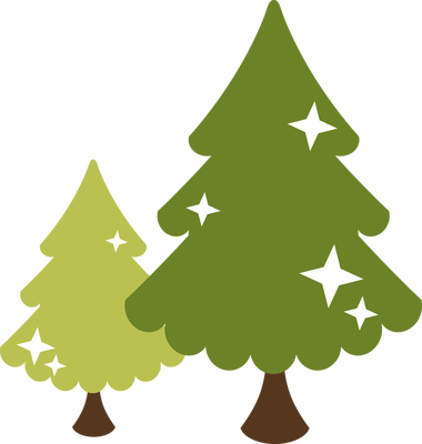 Evergreen Trees Christmas Tree Clipart Silhouette Christmas Best Christmas Tree Decorations