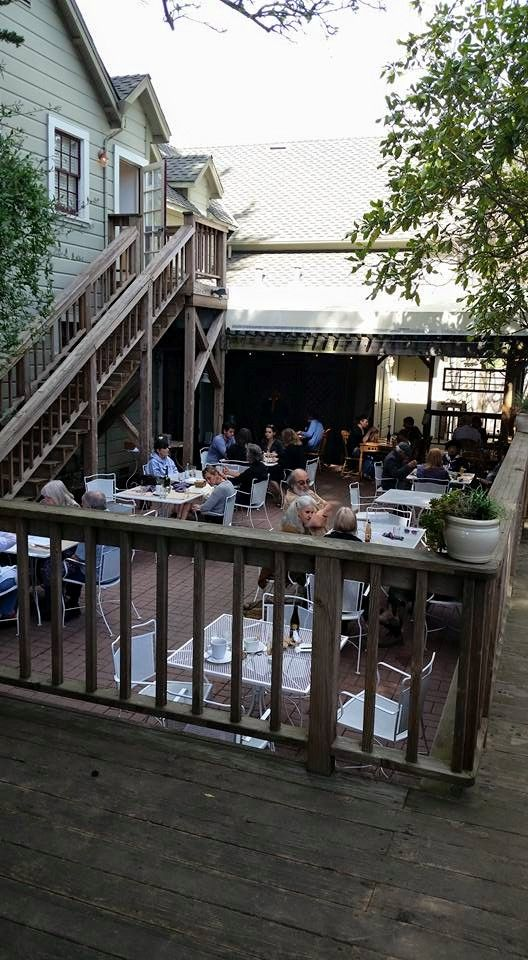 Lovely day for patio seating at Rocker Oysterfeller's in