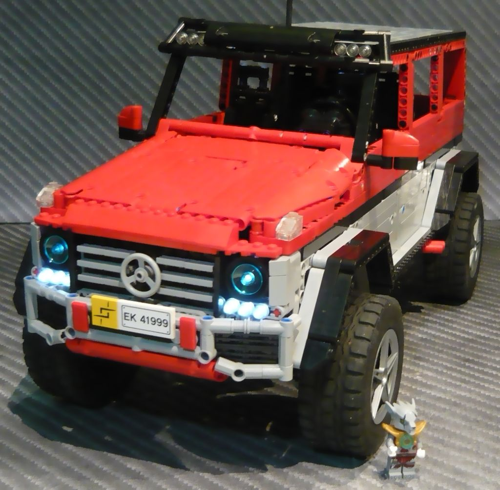 lego mercedes g500 4x4 by zblj lego technic modelle. Black Bedroom Furniture Sets. Home Design Ideas