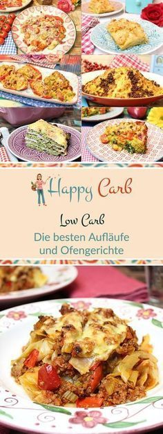 die besten low carb aufl ufe und ofengerichte happy carb rezepte pinterest essen ohne. Black Bedroom Furniture Sets. Home Design Ideas