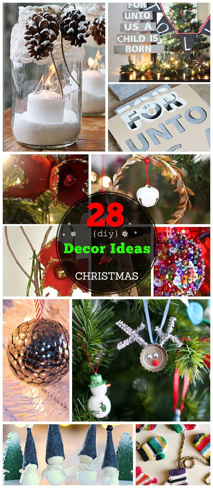 28 Diy Christmas Decor Ideas On A Budget Easy Christmas Diy Christmas Gift Decorations Christmas Decor Diy