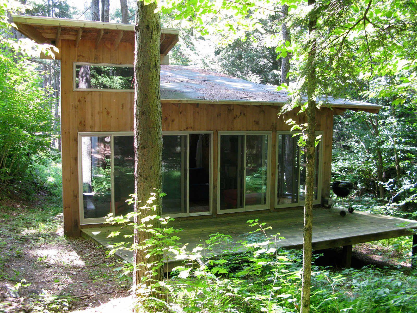Vermont cabin jeremy levine design this mountain cabin for Vermont mountain cabins