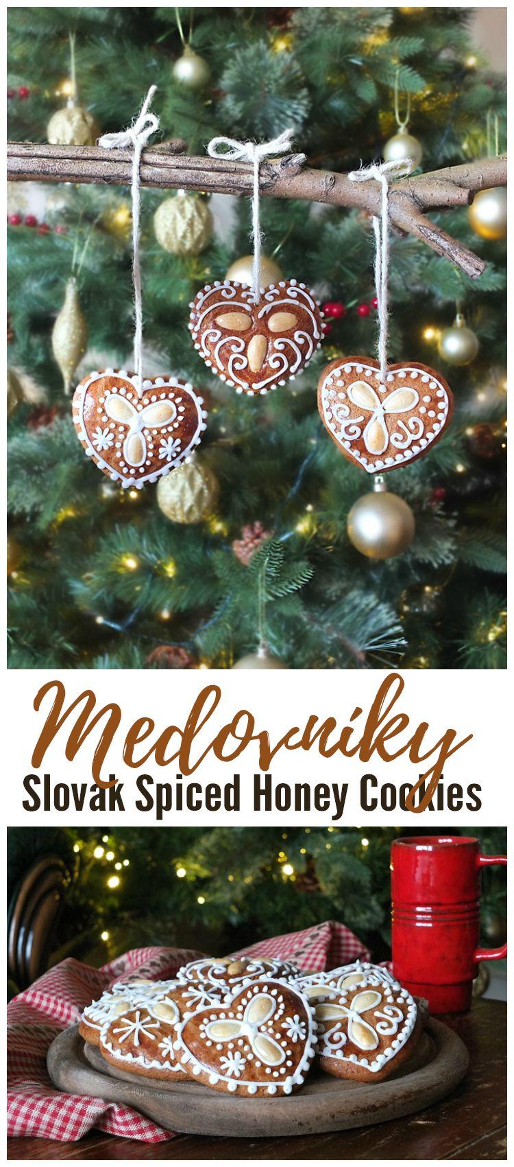 Medovniky A Slovak Spiced Honey Cookie Recipe Recipes From
