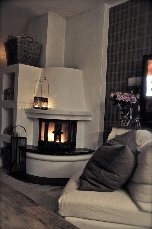 Interiør Blogg \u2013 Villa Paprika fireplace Pinterest Wohnzimmer - wohnzimmer ideen kamin