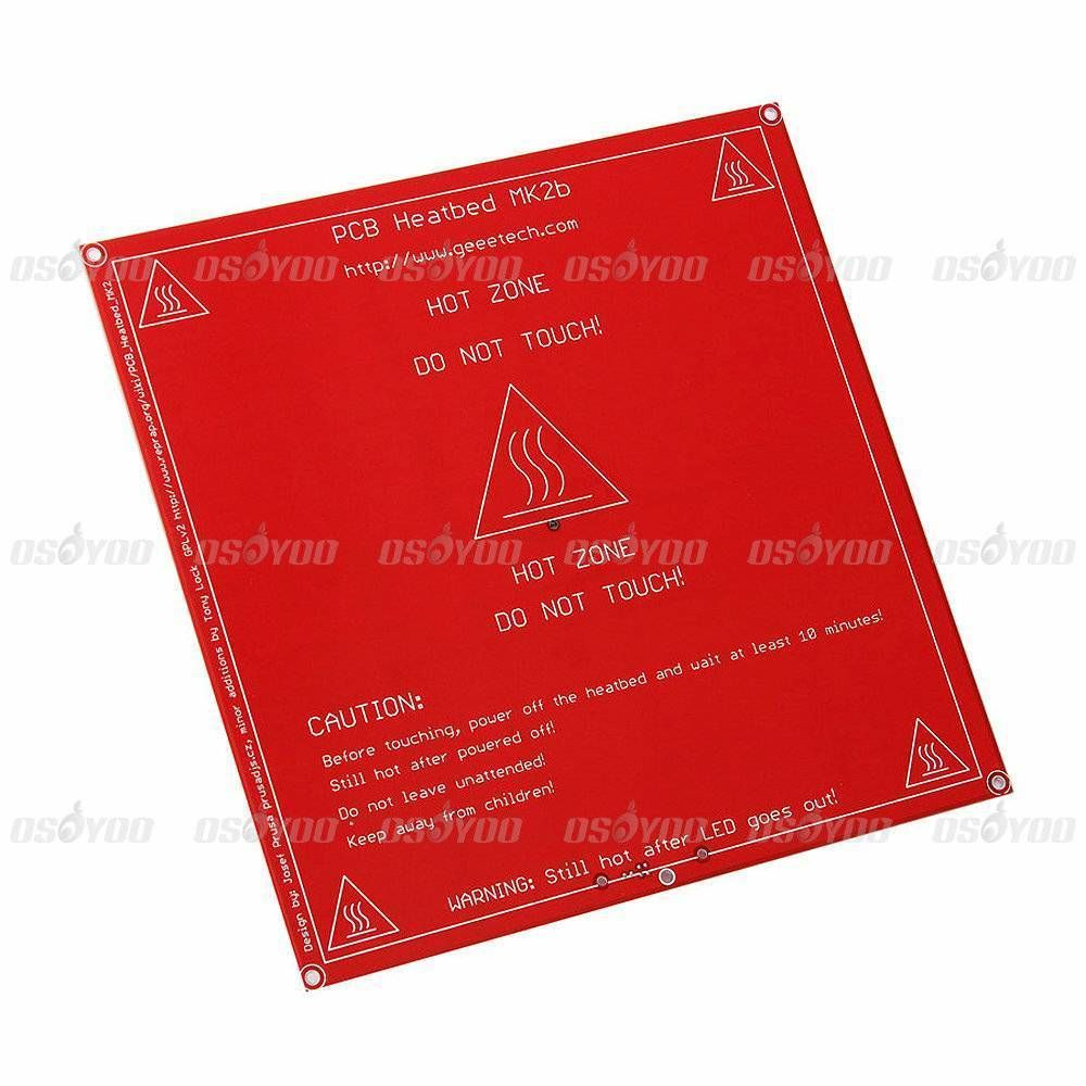 Free Shipping Reprap Mendel Pcb Heated Heatbed Mk2b For Mendel 3d