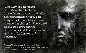 Etty Hillesum (Middelburg, Netherlands, 1914 - Auschwitz, Poland, 1943) - Google+