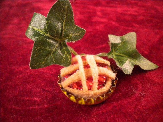 Cherry Faery Pie by MiladyLeela on Etsy, $6.00