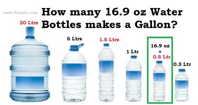 Howali 16 Oz Bottle Water Bottle Bottle