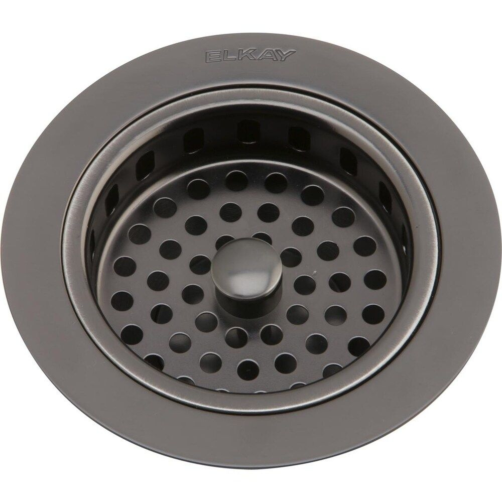 Elkay 3 1 2 Drain Fitting Antique Steel Finish Body And Basket With Rubber Stopper Silver In 2020 Antiques Steel Sink Drain