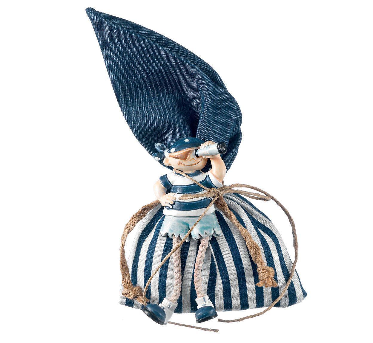 Pirate magnet 30-150 p Denim favors pouch Navy theme Baptism favors ...