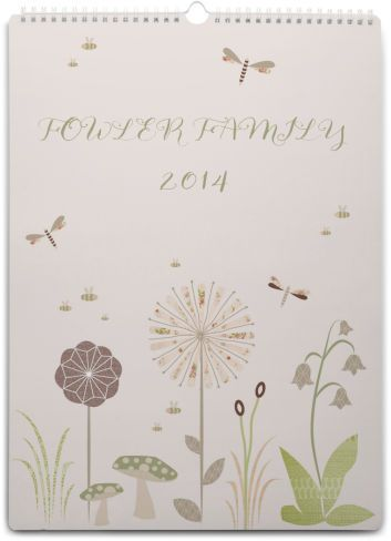 Family Calendar Personalised Calendars Family Planner ~ tinyme