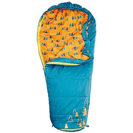 Kelty Dipper 30 Degree Sleeping Bag Short Right Hand Ocean Outdoor Sports Equipment