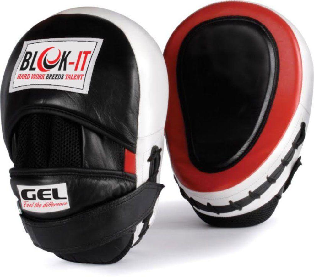 Gel focus mitts by blokit focus pads