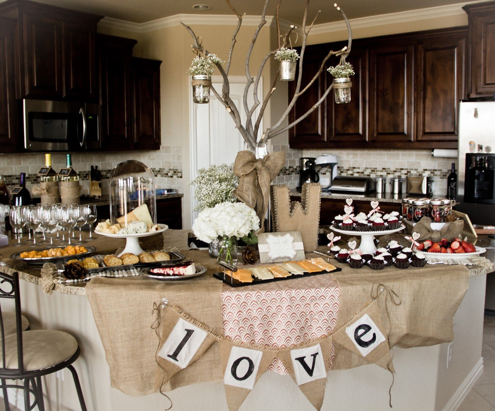 rustic bridal shower decorations bridalshower