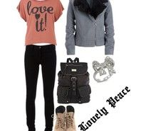 Inspiring picture fashion, polyvore, outfit. Resolution: 600x600 px. Find the picture to your taste!