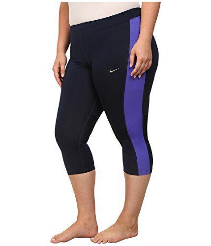 Nike Dri FIT Essential Crop Running Tights ATHLETIC CAPRI ...