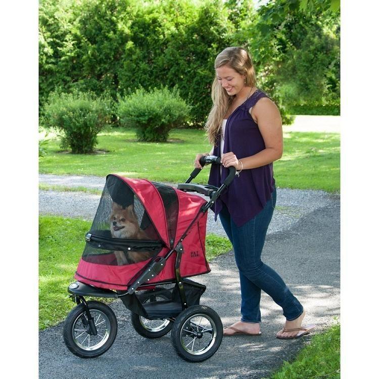 Jogger NoZip Pet Stroller Rugged Red Pet stroller