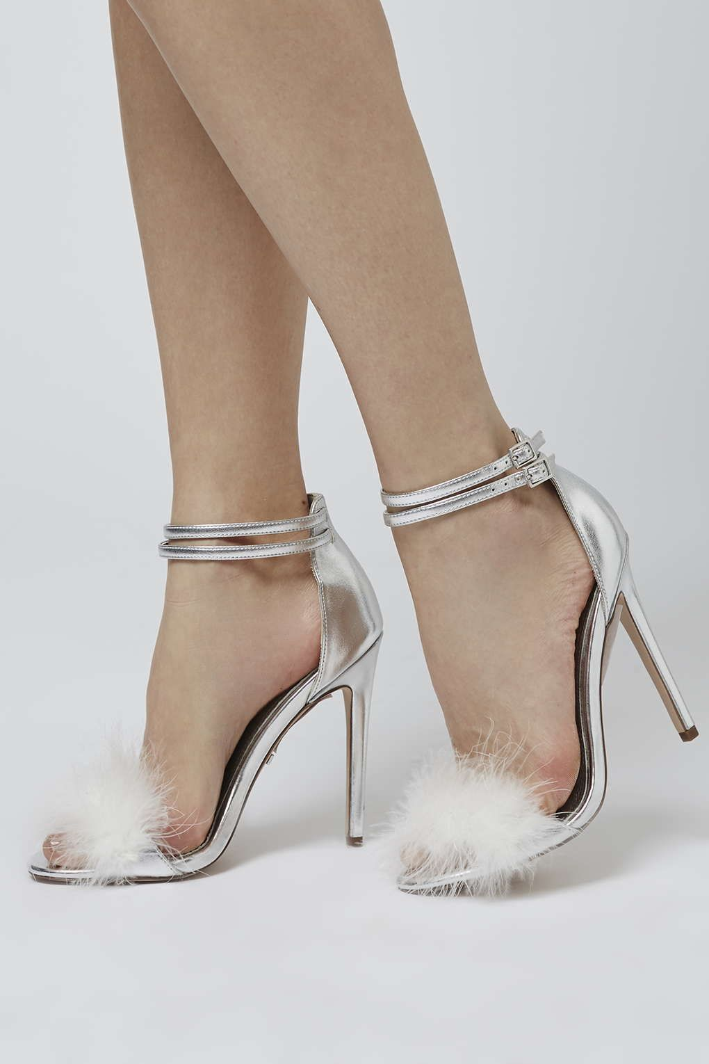 ecd250fbf9 These REESE feather sandals will add the finishing touch to any outfit. # Topshop