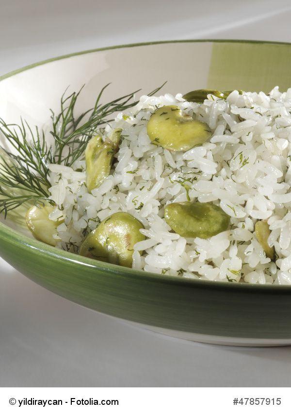 baghali polo (reis mit dicken bohnen und dill) | farsi food ... - Persische Küche Vegetarisch