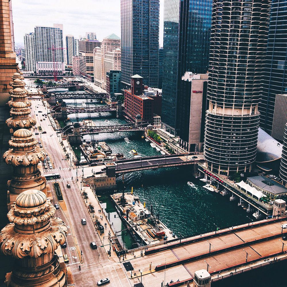 Chicago River By Neal Kumar On 500px