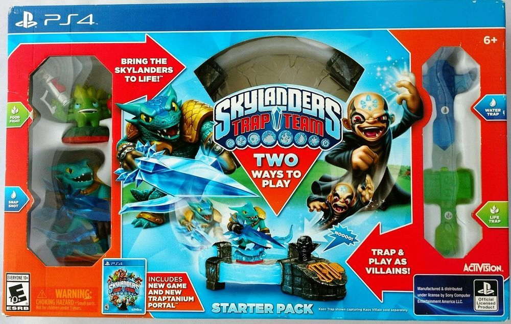 This one made a buyer in the UK happy. Skylanders trap