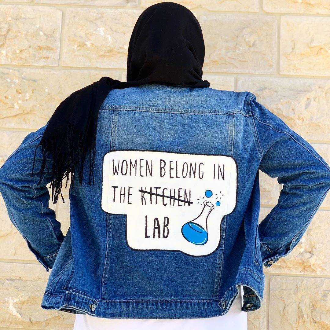 For A Biomedical Lab Student Women Belong In The Lab Customize Your Own Gifts Biomedical Science Painted Clothes Women Empowerment